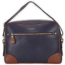 Buy Ted Baker Block Light Despatch Bag Online at johnlewis.com