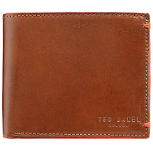 Buy Ted Baker Bifold Coin Wallet, Tan Online at johnlewis.com