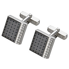 Buy Ted Baker Square Spot Cufflinks Online at johnlewis.com