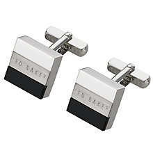 Buy Ted Baker Cross Rectangular Cufflinks Online at johnlewis.com