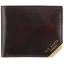 Buy Ted Baker Metal Corner Bifold Wallet Online at johnlewis.com