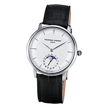 Buy Frédérique Constant Men's Classics Slim Line Moonphase Watch Online at johnlewis.com