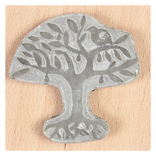 Buy The English Stamp Company Paradise Tree Rubber Stamp Online at johnlewis.com
