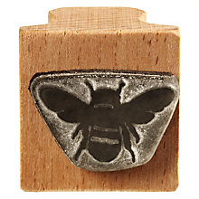 Buy The English Stamp Company Bee Rubber Stamp Online at johnlewis.com