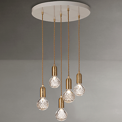 Lee Broom Clear Crystal Bulb Chandelier