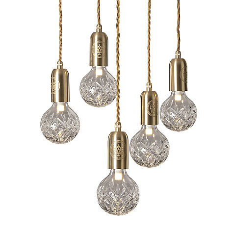 Buy Lee Broom Clear Crystal Bulb Chandelier Online at johnlewis.com