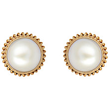 Buy Sharon Mills 9ct Gold And Pearl Earrings Online at johnlewis.com