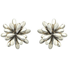 Buy Sharon Mills Silver Multi Leaf Clip-On Earrings Online at johnlewis.com