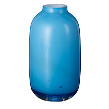 Buy House by John Lewis Vase, H13cm, Blue Online at johnlewis.com