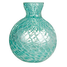 Buy John Lewis Rounded Perfume Bottle, Green Online at johnlewis.com