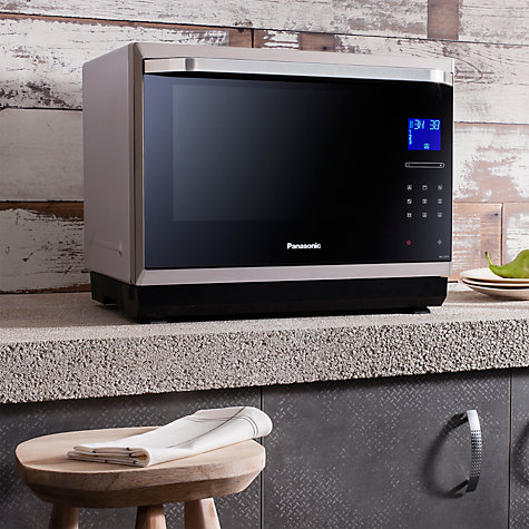 Buy Panasonic NN-CF873S Combination Microwave, Stainless Steel Online at johnlewis.com