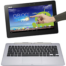 Buy Asus Transformer Book Trio TX201LA Convertible Android Tablet & Windows 8 Laptop & Desktop Base Online at johnlewis.com