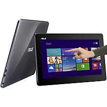 "Buy Asus Transformer Book T100TA Convertible Tablet Laptop, Intel Atom, 2GB RAM, 32GB, Windows 8.1 & Microsoft Office 2013, 10.1"" Touch Screen Online at johnlewis.com"