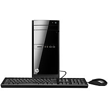 Buy HP Pavilion 110-112EA Desktop PC, Intel Pentium, 8GB RAM, 1TB, Black Online at johnlewis.com