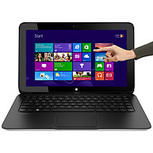 "Buy HP Pavilion 11-h000 x2 Convertible Tablet Laptop, Intel Celeron, 4GB RAM, 64GB SSD, 11.6"" Touch Screen, Black Online at johnlewis.com"