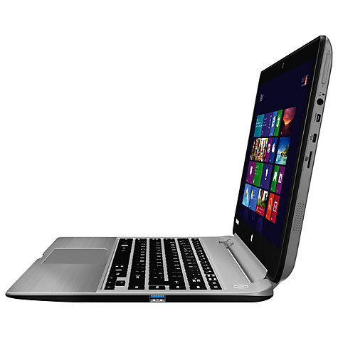"Buy Toshiba Satellite W30Dt-A-100 Convertible Tablet Laptop, AMD A4, 4GB RAM, 500GB, 13.3"" Touch Screen, Silver Online at johnlewis.com"