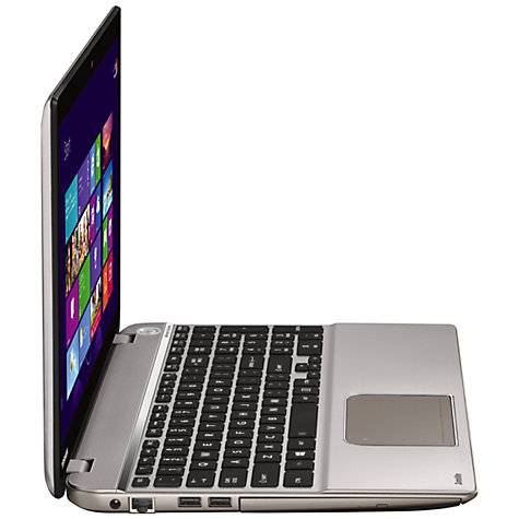 "Buy Toshiba Satellite P50t-A-125 Laptop, Intel Core i7, 12GB RAM, 1TB, Blu-ray, 15.6"" Touch Screen, Silver Online at johnlewis.com"