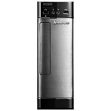 Buy Lenovo H520s Desktop PC, Intel Core i3, 6GB RAM, 1TB, Metallic & Black + Microsoft Office 365 Online at johnlewis.com