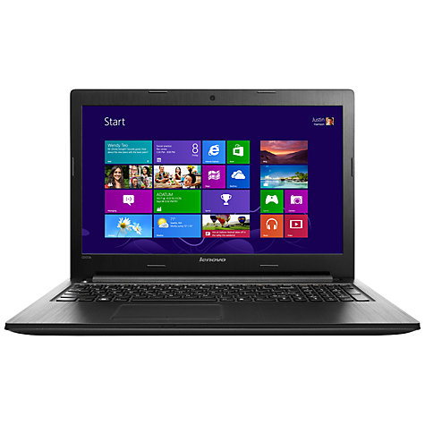 "Buy Lenovo G505s Laptop, AMD A8, 8GB RAM, 1TB, 15.6"", Black Online at johnlewis.com"