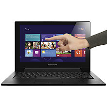 "Buy Lenovo IdeaPad S210 Laptop, Intel Pentium, 4GB RAM, 500GB, 11.6"" Touch Screen, Black Online at johnlewis.com"