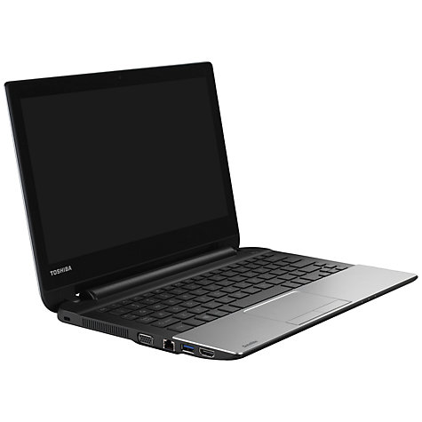 "Buy Toshiba Satellite NB10t-A-101 Laptop, Intel Celeron, 4GB RAM, 500GB, 11.6"" Touch Screen, Silver Online at johnlewis.com"