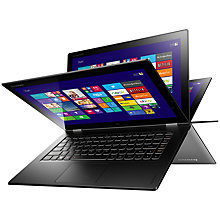 "Buy Lenovo IdeaPad Yoga 2 Pro Convertible Ultrabook, Intel Core i5, 4GB RAM, 256GB SSD, 13.3"" QHD+ Touch Screen, Silver + Norton 360 Online at johnlewis.com"