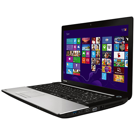 "Buy Toshiba Satellite C75-A-13P Laptop, Intel Core i5, 8GB RAM, 1TB, 17.3"", Silver Online at johnlewis.com"