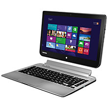"Buy Toshiba Satellite W30t-A-101 Convertible Tablet Laptop, Intel Core i3, 4GB RAM, 500GB, 13.3"" Touch Screen, Silver + Norton Security 2.0: 1 User, 5 Devices Online at johnlewis.com"