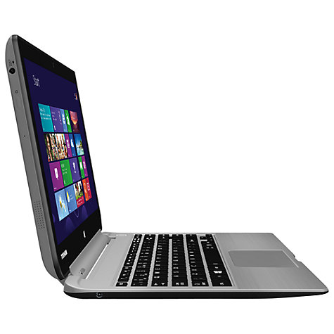 "Buy Toshiba Satellite W30t-A-101 Convertible Tablet Laptop, Intel Core i3, 4GB RAM, 500GB, 13.3"" Touch Screen, Silver Online at johnlewis.com"