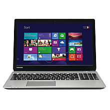 "Buy Toshiba Satellite M50-A-11P Laptop, Intel Core i3, 8GB RAM, 750GB, 15.6"", Silver + Norton 360 Online at johnlewis.com"
