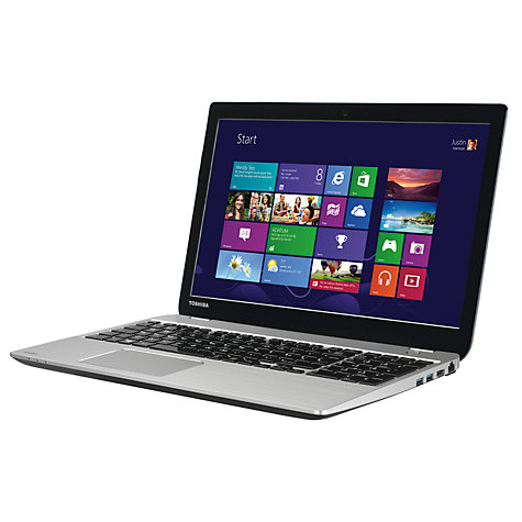 "Buy Toshiba Satellite M50-A-11P Laptop, Intel Core i3, 8GB RAM, 750GB, 15.6"", Silver Online at johnlewis.com"