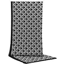 Buy Reiss Tibble Geometric Print Scarf, Black/White Online at johnlewis.com