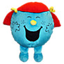 Buy Mr Men Little Miss Giggles Reversible Cushion and Travel Pillow Online at johnlewis.com
