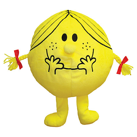 Buy Mr Men Little Miss Sunshine Reversible Cushion and Travel Pillow Online at johnlewis.com