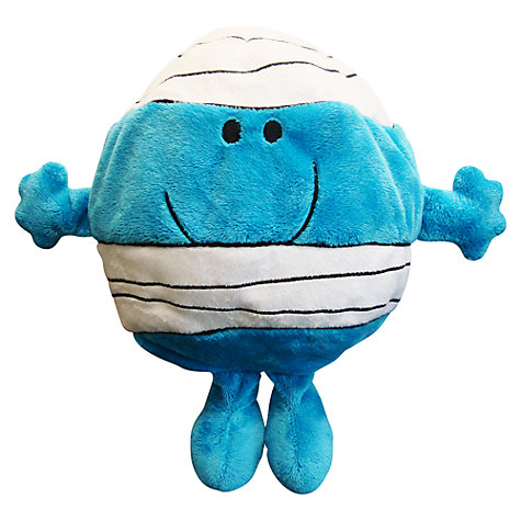 Buy Mr Men Mr Bump Reversible Cushion and Travel Pillow Online at johnlewis.com