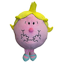 Buy Mr Men Little Miss Princess Reversible Cushion and Travel Pillow Online at johnlewis.com