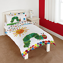 Buy Hungry Caterpillar Single Duvet Cover and Pillowcase Set Online at johnlewis.com