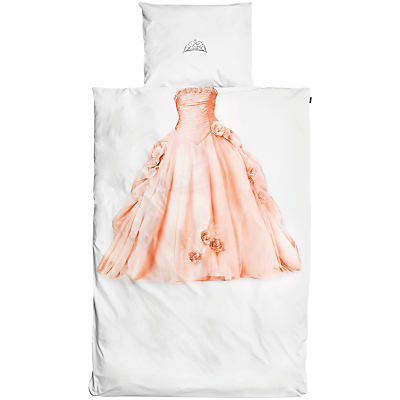 Snurk Princess Single Duvet Cover and Pillowcase Set