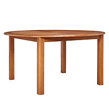 Buy John Lewis Naples 6 Seater Round Table Online at johnlewis.com