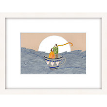 Buy Louise Wright - Lost at Sea Framed Print, 33 x 43cm Online at johnlewis.com