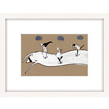 Buy Louise Wright - Dancing Framed Print, 33 x 43cm Online at johnlewis.com