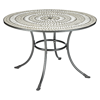 John Lewis Henley by KETTLER 4-Seater Mosaic Outdoor Dining Table