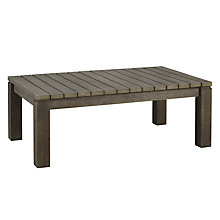 Buy John Lewis Croft Collection Bilbao FSC 4-Seat Outdoor Coffee Table Online at johnlewis.com