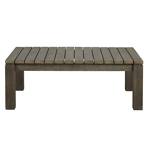 Buy John Lewis Croft Collection Bilbao FSC Outdoor Coffee Table Online at johnlewis.com