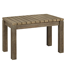 Buy John Lewis Croft Collection Bilbao Outdoor Dining Stool Online at johnlewis.com