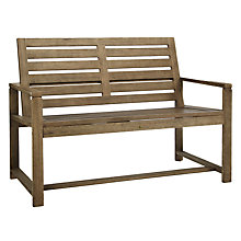 Buy John Lewis Croft Collection Bilbao FSC Outdoor Dining Bench Online at johnlewis.com
