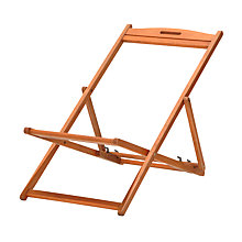 Buy John Lewis Deckchair Frame Online at johnlewis.com