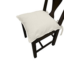 Buy John Lewis Outdoor Seat Pad, Oyster Online at johnlewis.com