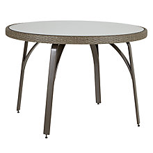 Buy John Lewis Corsica 4 Seater Round Table Online at johnlewis.com