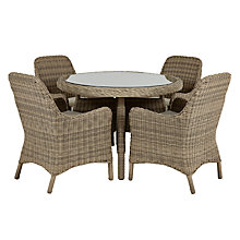 Buy John Lewis Rio 4 Seater Dining Set Online at johnlewis.com